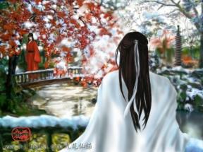 Màu đỏ và trắng cực hài hòa~