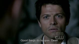 """""""Chuyện tốt có xảy ra mà Dean."""" - Vâng, là chuyện tốt *chùi máu mũi* đây là nơi tình yêu bắt đầu mà..."""