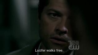 """""""Lucifer sẽ được phóng thích."""" - *Lucifer hay còn gọi là Satan, vẫn thường dính đến con số 6, là thiên thần sa đọa đầu tiên của thiên đường, bị Chúa trừng phạt và đại loại thì hiện đang bị phong ấn lại."""