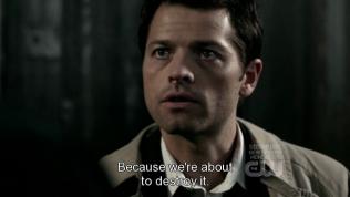 """""""Bởi vì chúng tôi chuẩn bị phá hủy nó."""""""
