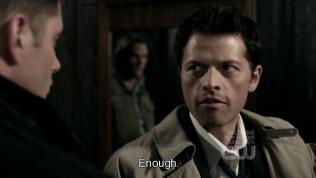 """""""Đủ rồi."""" - Cas ra lệnh cho Uriel *mắt vẫn nhìn Dean*"""