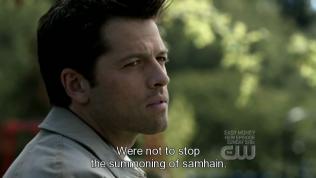 """""""Không phải là để ngăn việc triệu hồi Samhain."""""""