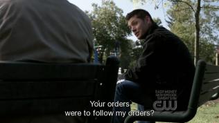 """""""Mệnh lệnh của anh là nghe theo mệnh lệnh của tôi."""""""