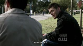 """Dean đùa: """"Đó chỉ là một phù thủy..."""""""