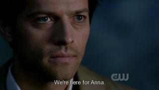 """""""Chúng tôi đến là vì Anna. Cô ta phải chết"""" - Ở tập này lại xuất hiện thêm một thiên thần nữa tên là Anna. Cô ấy là... ờm, bạn tình một đêm của Dean =)))))"""