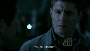 """""""Cậu thì khác."""" - Cas trả lời."""