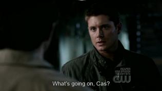 """Chuyện gì xảy ra vậy, Cas?"" - Dean hỏi."