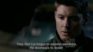 """""""Họ thấy tôi bắt đầu thể hiện tình cảm của mình, cánh cửa dẫn đến sự nghi ngờ."""" - Cas tiếp tục."""