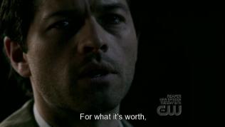 """""""Có lẽ chẳng ích gì..."""" - Cas đau đớn nhìn Dean."""