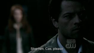 """""""Hãy ngăn cậu ấy lại đi, Cas, làm ơn."""" Anna nói."""