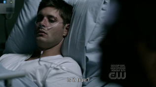 """""""Việc đó là thật sao?"""" - Dean chợt hỏi."""