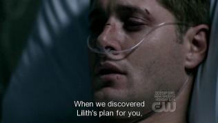 """""""Khi chúng tôi phát hiện âm mưu của Lilith dành cho cậu,"""" - Cas kể lại."""