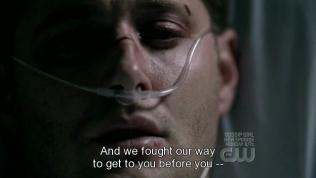 """""""Chúng tôi đã không ngừng chiến đấu để đến chỗ của cậu."""""""