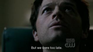 """""""Nhưng chúng tôi đã đến quá muộn."""" - Cas buồn bã kết luận."""