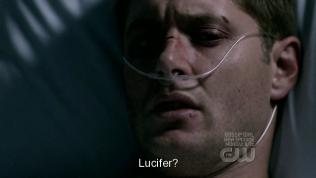 "Dean hỏi, ""Ngăn cái gì? Lucifer?"""