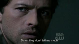 """""""Dean, họ không cho tôi biết nhiều."""""""