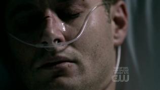 Trong khoảng thời gian đau khổ và khó thở bởi gánh nặng ấy, Dean không thể thổ lộ lòng mình với bất kỳ ai. Anh luôn tỏ ra mạnh mẽ và mình rất ổn, chỉ khi ở một mình với Cas, anh mới dám để cảm xúc thật sự của mình trào ra.