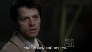 """""""Và tôi lại càng không phục vụ cậu."""""""