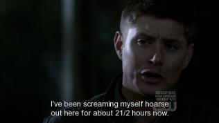 """""""Nãy giờ tôi đã gào đến khản cổ suốt hai tiếng rưỡi rồi đấy."""""""