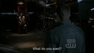 """""""Cậu muốn gì?"""" - Cas hỏi. - Mọi người đã thấy sự việc bắt đầu xoay chiều rồi nhé, ngày xưa Dean hỏi câu này, bây giờ đến phiên Cas. Chẹp chẹp ~"""