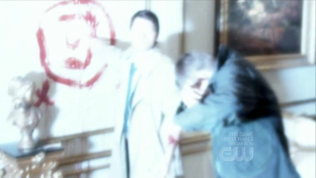 Cuối tập 22, ss 4, Cas đã đuổi Zachariah đi và đưa Dean đến chỗ của Chuck, nhà tiên tri.
