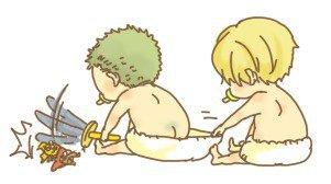 =))))))) Xấu tính quá, Sanji