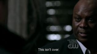 """Mọi chuyện tạm xong, Uriel tức tối nói, """"Còn chưa kết thúc đâu."""""""