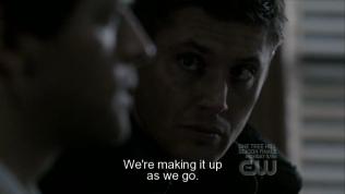 Dean rất ngạc nhiên khi nghe Cas nói thế.
