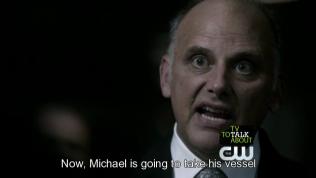 Thế nhưng dấu ấn đó chỉ có thể đuổi được thiên thần đi một lúc thôi. Sau đó chúng lại quay lại đòi bắt Dean. Nguyên nhân là vì, Dean chính là vỏ ngoài định sẵn của tổng thiên thần Michael, người có sứ mệnh giết chết Lucifer. Đồng thời cũng nói luôn, Sam chính là vỏ ngoài định sẵn của Lucifer. Vậy nên số mệnh định sẵn của họ là Dean sẽ làm vỏ ngoài cho Micheal và giết chết Lucifer-Sam. Nhưng vấn đề là thiên thần cần phải được sự cho phép của chủ nhân thân xác đó để có thể lấy đó làm vỏ ngoài của mình. Và Zachariah đến là để ép buộc Dean phải đồng ý với việc đó.