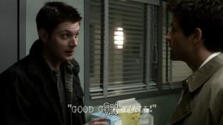 """Dean: """"Chúa?"""" - Cas: """"Đúng vậy."""""""