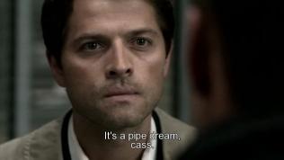 """""""Đó là mơ mộng viễn vông, Cas."""" Dean từ chối tin vào kế hoạch không tưởng của Cas. Và điều đó làm Cas nổi giận."""