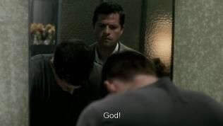 Dean được một phen thót tim =)) Nói thật chứ Cas chẳng khác gì stalker cả =)))