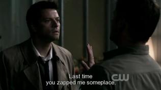 """""""Lần trước anh chuyển tôi đi đâu đó, tôi đã không thể đi ị trong một tuần liền"""" Dean cằn nhằn =))))))"""