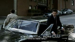 """""""Tại sao lại đến đây"""" - Dean hỏi."""