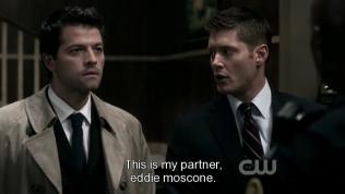 """""""Đây là cộng sự của tôi, Eddie Moscone."""""""