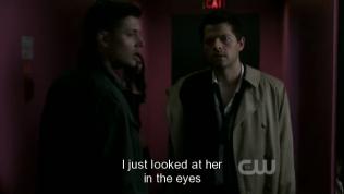 """""""Tôi chỉ nhìn vào mắt cô ta"""""""