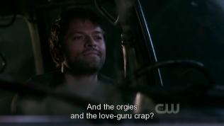 """Rồi ăn chơi và còn mấy đứa con gái kia nữa?"""" - Dean hỏi."""