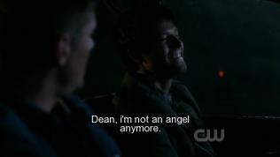 """""""Dean, tôi không còn là thiên thần nữa rồi."""" - Cas cười đáp."""
