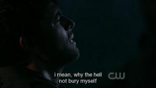 """""""Ý tôi là, đã thế thì tội gì mà không chôn mình"""