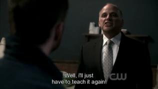 """""""Ồ, vậy thì tôi chỉ đành dạy cậu thêm lần nữa thôi."""""""