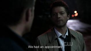 """""""Chúng ta đã có hẹn mà."""" Cas nói =))))"""