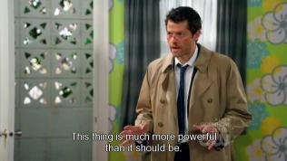"""""""Thứ này mạnh hơn rất nhiều so với thông thường."""" - Cas nói."""