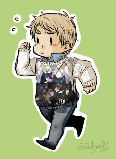 Run John! You're so cute!