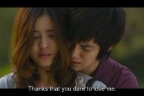 """""""Cảm ơn vì cậu đã dám yêu tớ."""""""