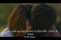 """""""Xin hãy cho tình yêu này của con một cơ hội, con muốn biết nó có phải là thật hay không..."""""""