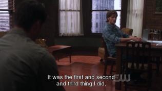 """""""Đó là điều đầu tiên, thứ hai và thứ ba mà em làm."""" Sam đáp."""