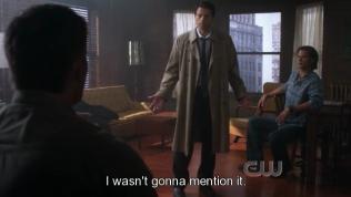 """""""Tôi vốn không định nhắc tới nó."""" Cas nói."""