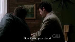 """""""Bây giờ thì tôi cần máu của cậu."""" Cas nói và..."""