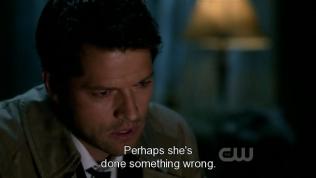 """""""Có lẽ là cô ta đã làm gì đó sai."""" Cas kết luận =))))"""