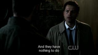 """Và bọn họ không có việc gì để làm ngoài trút sự phẫn nộ lên linh hồn của Sam."""" Cas giải thích,"""